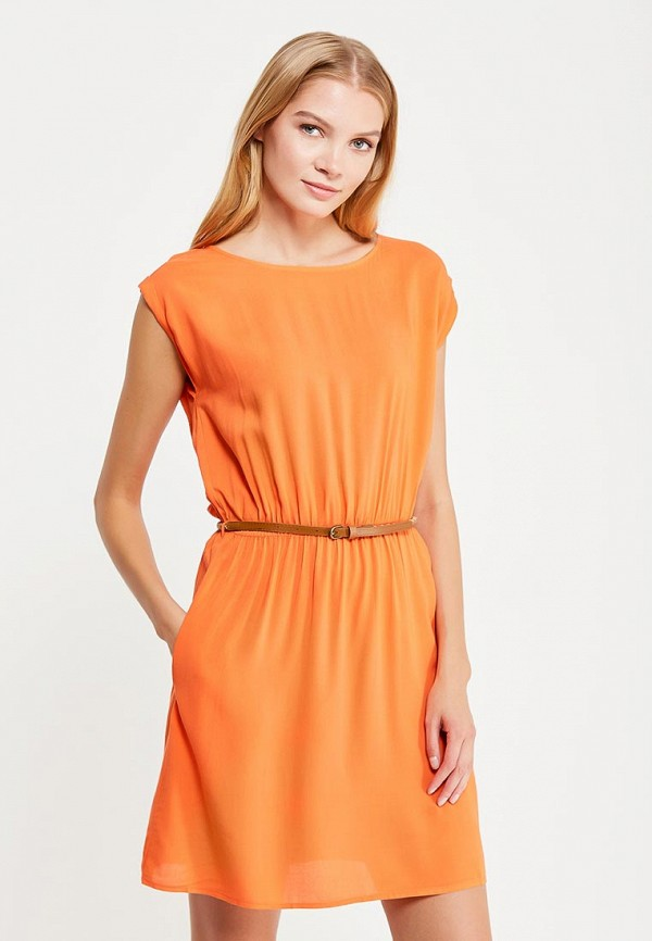 Летние Платье Оранжевые